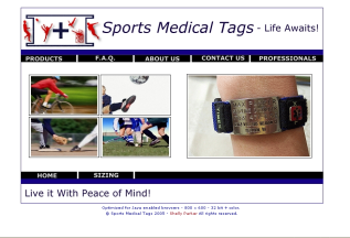 Sports Medical Tags